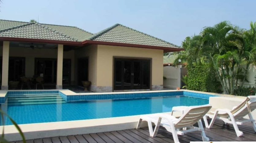 U-Shape Pool Villa Top Quality Development Hua Hin