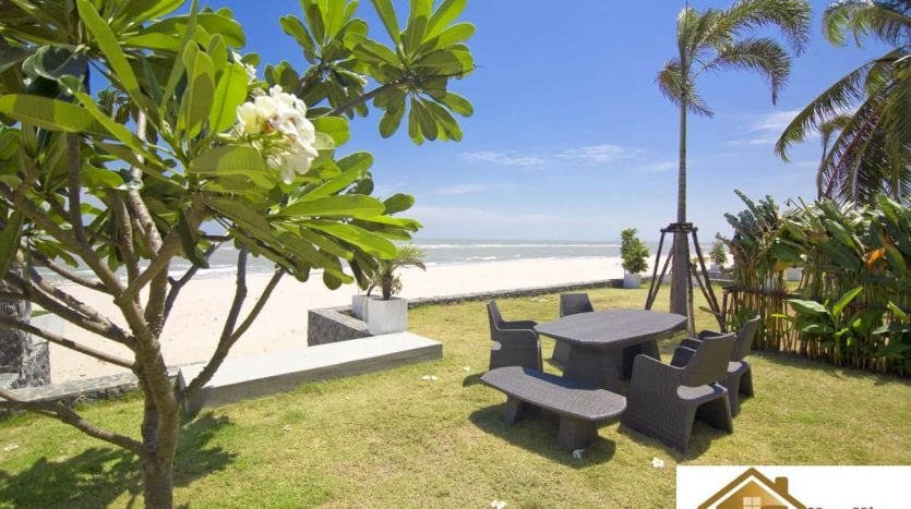 Absolute Beachfront 2 Bed 3 Bath Pool Villa Kuiburi