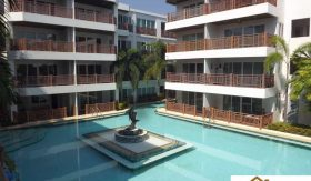 Beachfront Studio Condo At Fire Sales Price – Cha Am