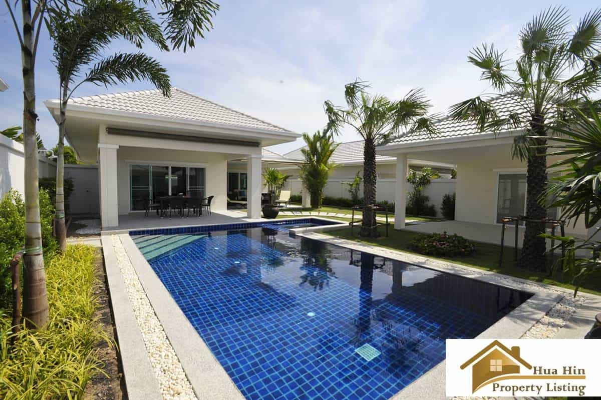 Brand new hua hin pool villas hot property deal 2017 for Outdoor furniture hua hin