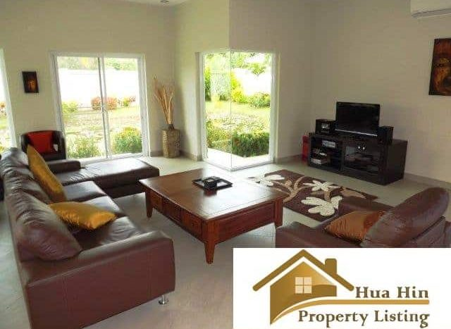 Hana Village 4 Bed Pool Villa Resale – Pranburi