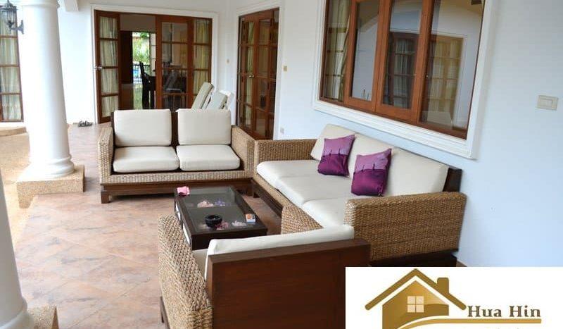 Reduced 3 bed 5 Bath Pool Villa For Sale Hua Hin