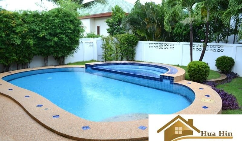 Reduced 3 bed 5 Bath Pool Villa For Sale Hua Hin