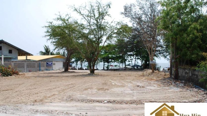 Absolute Hua Hin Beachfront Land for Sale - 2000 sqm.