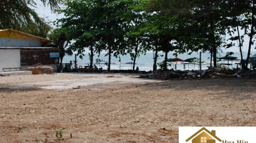 Absolute Hua Hin Beachfront Land for Sale – 2000 sqm.