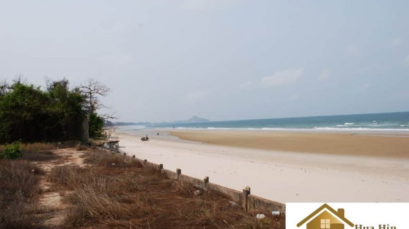Absolute Beachfront Land In Hua Hin - Khao Tao For Sale