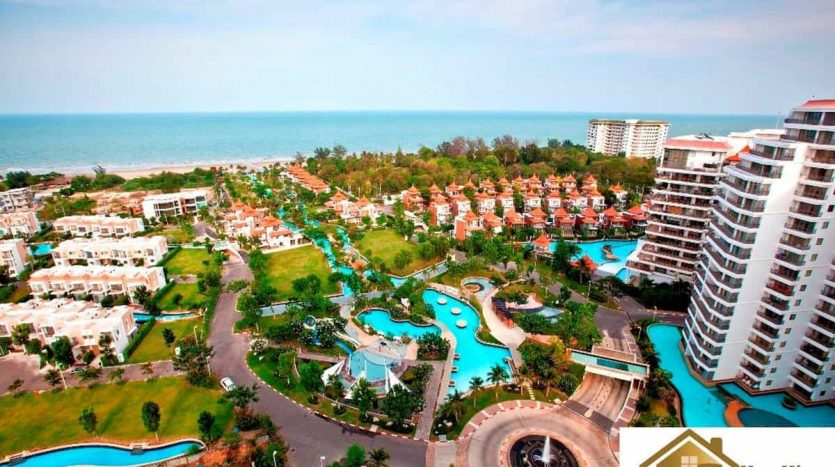 Beachfront 1 Bed Hua Hin Condo Unit For Sale