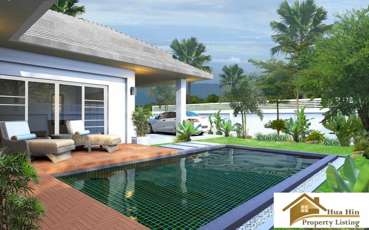 Luxury 2 bed pool villa for sale hua hin for 8 villas hua hin
