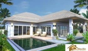Luxury 2 Bed Pool Villa For Sale Hua Hin