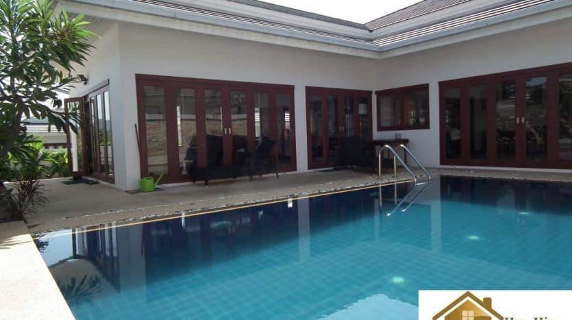 Resale 3 Bed Hua Hin Pool Villa Near Town Center