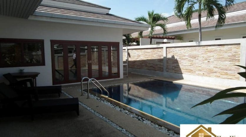 Resale 3 Bed Hua Hin Pool Villa Near Town Center