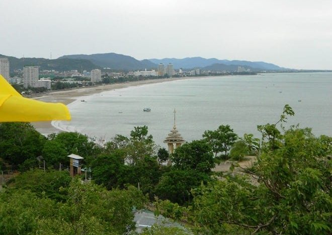 The Hua Hin bay Photos
