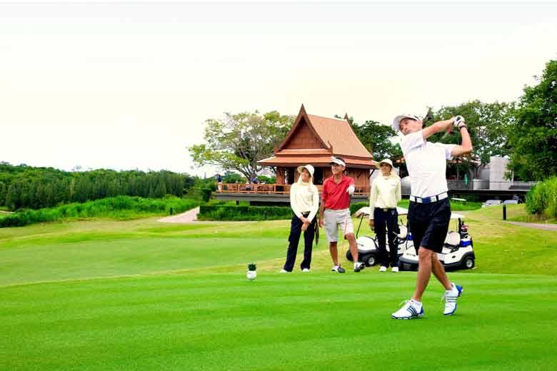 golf vacation in Thailand