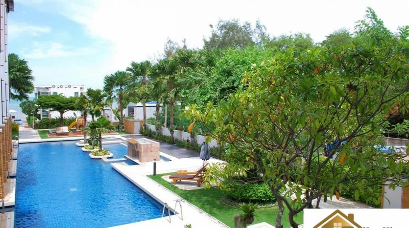 Beachfront 2 Bed 2 Bath Hua Hin Condo For Sale