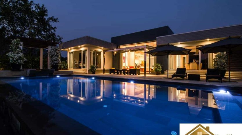 Hua Hin Pool Villa For Sale With Stunning Golf Course View