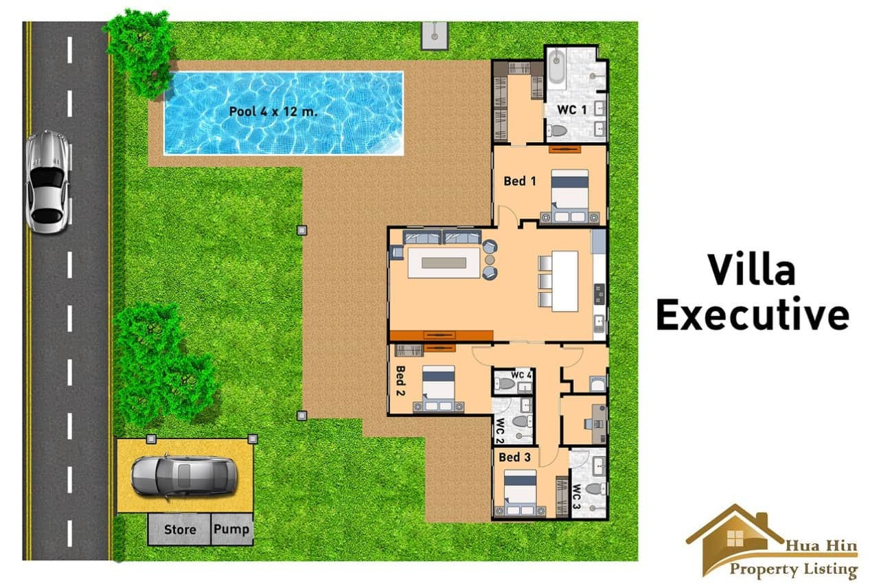 Villa Executive - Floor Plan
