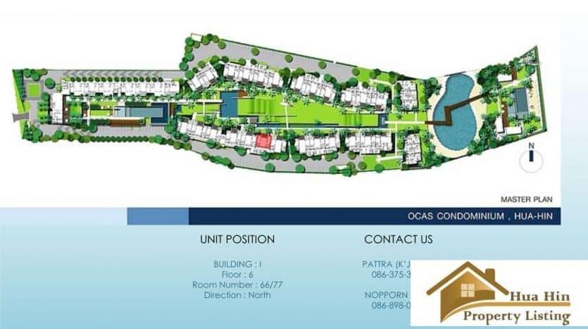 Spacious Hua Hin Condo Unit Available In A Modern Style Condominium