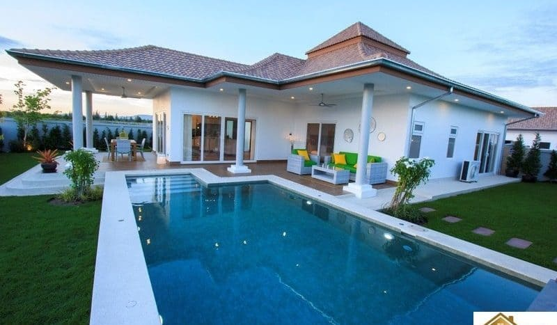 Mali Signature – Modern Design Award Winning Pool Villas Hua Hin