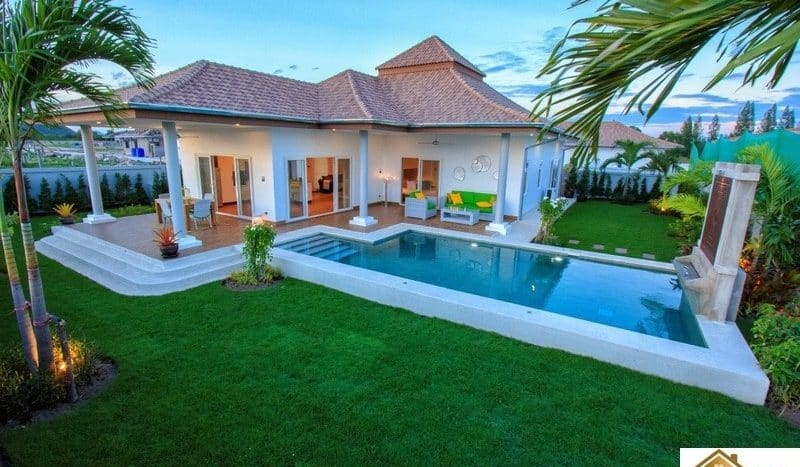 mali signature modern design award winning pool villas