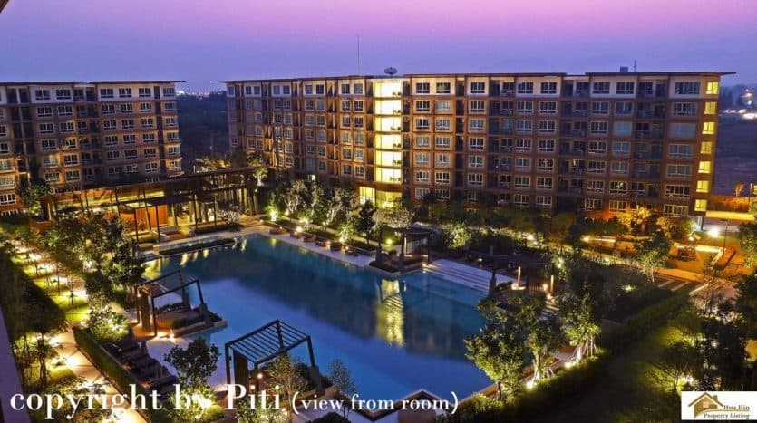 Sansiri Ban Thew Lom - Furnished Studio Unit For Resale Hua Hin