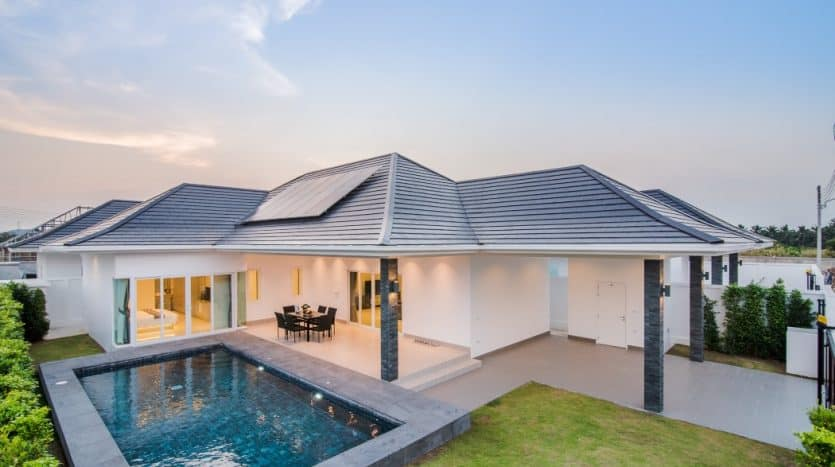 Baan Aria Hua Hin - 3 Bed Quality Pool Villas At Affordable Price