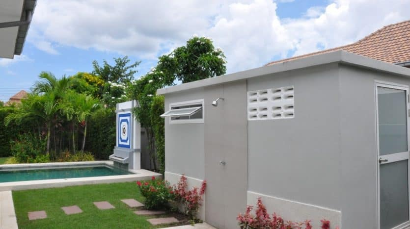 Hua Hin Resale Pool Villa In Completed & Secured Estate