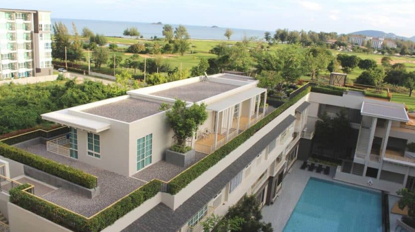 Stunning Golf Course & Sea View Condo For Sale Hua Hin