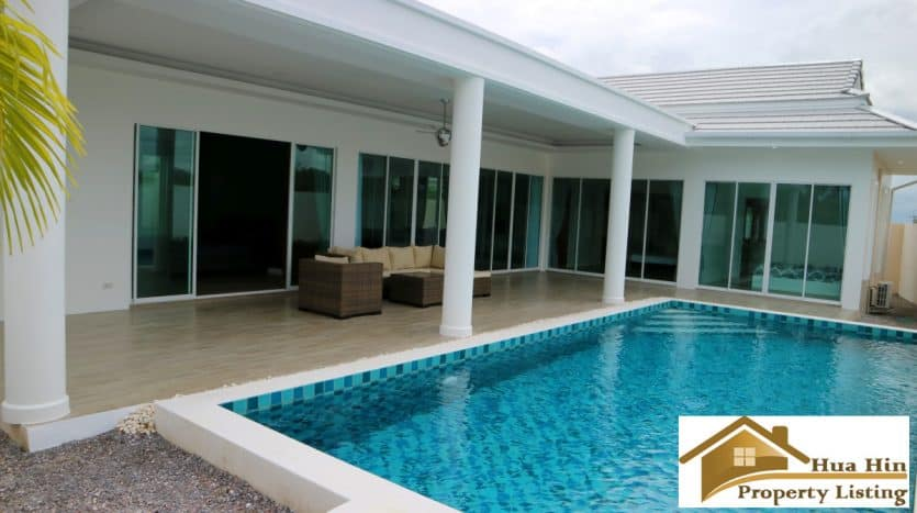 Brand New Pool Villa For Sale South Of Hua Hin - Great Value