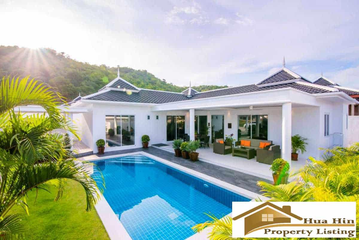 Hua Hin Pool Villa For Sale In Secured Development Near BluPort