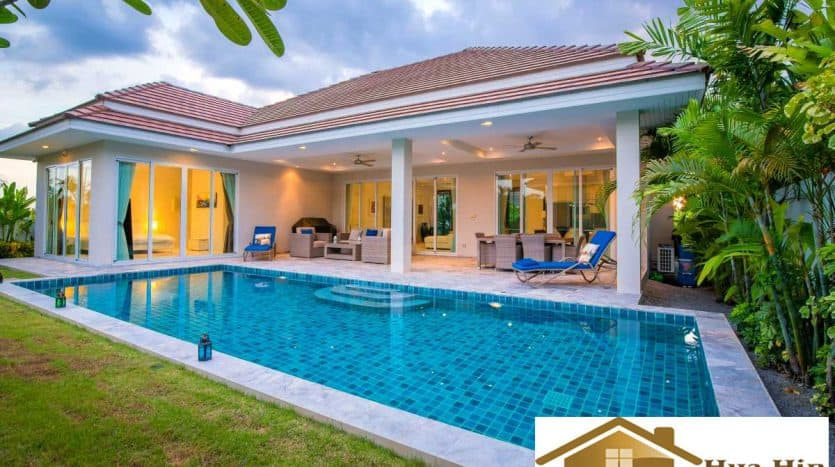 Modern High Quality 4 Bed Pool Villa In Hua Hin With Many Upgrades