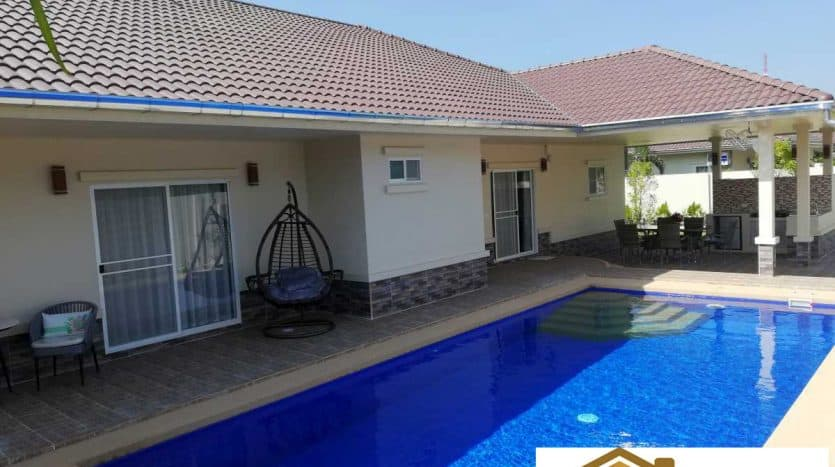 Newly Completed Pool Villa 3 Bed 4 Bath 1KM From Khao Kalok Beach