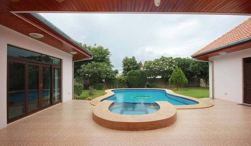 Furnished 3 Bed 3 Bath Pool Villa For Sale 5 Minutes From Hua Hin Town