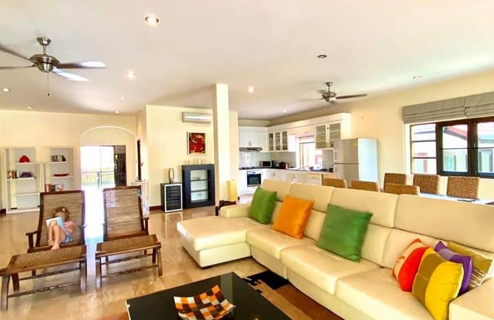 Spacious Private Pool Villa For Sale Hua Hin Golf Village