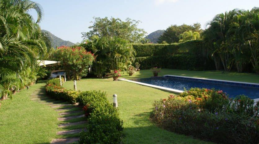 Baan Ing Phu Private Estate Modern Park Villa For Sale Hua Hin