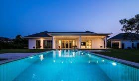 Ultimate Private Pool Villa For Sale Hua Hin Baan Ing Phu Estate Development