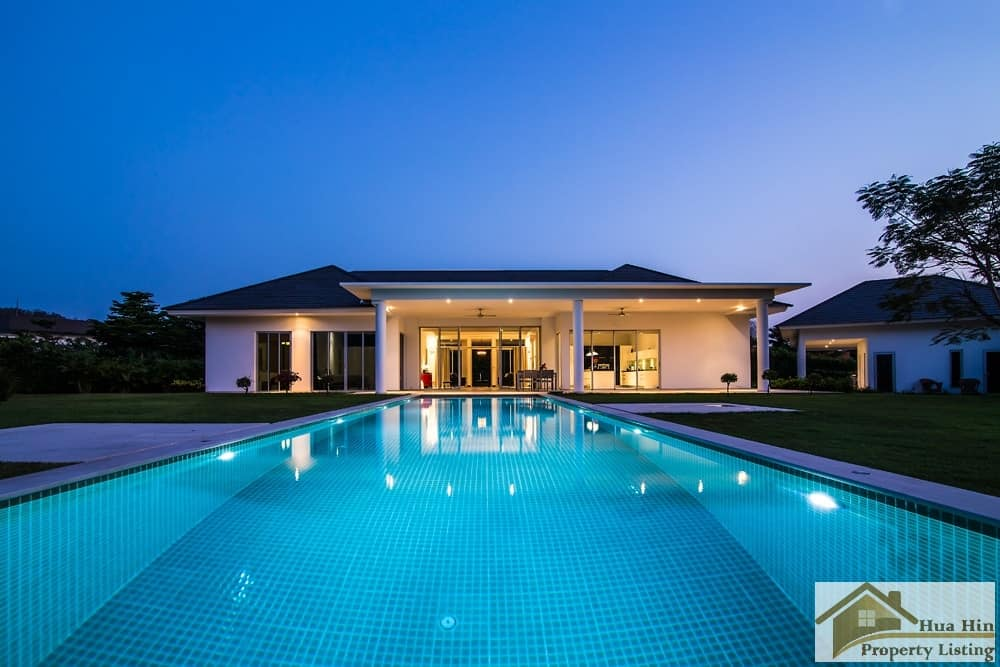 Ultimate Private Pool Villa For Sale Hua Hin Baan Ing Phu Estate Development